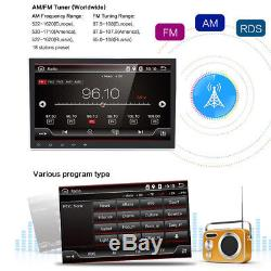 10.1 Android 7.1.1 Quad-Core Car GPS Wifi 3G/4G BT DAB Stereo Radio MP5 Player