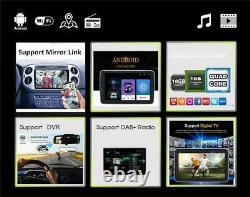10.1 Android 9.1 Car Stereo Radio 1DIN GPS 4G WIFI OBD Multimedia Player 2+32GB