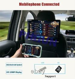 10.1'' HD Touch Screen Car Headrest Monitor Player 16GB Android 8.1 BT WiFi OBD