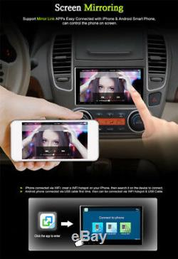 10.1 Touch Screen 1080P Quad-Core Car Stereo DVD Player GPS Wifi BT Mirror Link