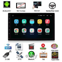 10.1in 1Din Android 9.1 1+16G Car Stereo Radio MP5 Player BT GPS Sat Nav FM WIFI