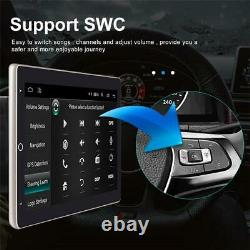 10in Single 1Din Car MP5 Player Android 9.1 Stereo Radio GPS Navi WIFI Rotatable