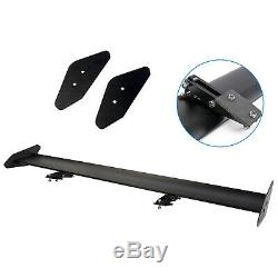 110CM 43'' Universal Lightweight Car Auto Rear Tail Racing Spoiler Wing Bracket