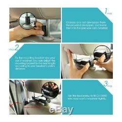 11.6 HD Auto Car Headrest Monitor DVD Video Game Player Adjustable View Angles