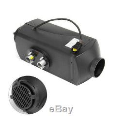 12V Air diesel Heater With LCD Switch + Silencer For Cars Truck Motor-home Boat