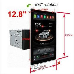 12.8'' Android 8.1 4+32G Large Screen Universal Car Multimedia MP5 GPS DVR New