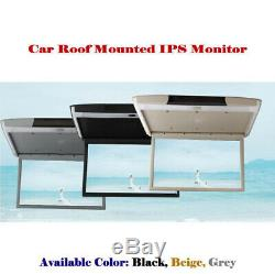 15.6Inch Car Roof Mounted Monitor Overhead Ceiling IPS Screen Display MP5 Player