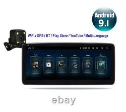 1Din Android 8.1 GPS Navigation Car Stereo Radio Touch Screen Head Unit WithCamera