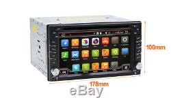 2 DIN Android 7.1 WIFI 6.2 Car Radio Stereo DVD Player GPS Navigation Touscreen