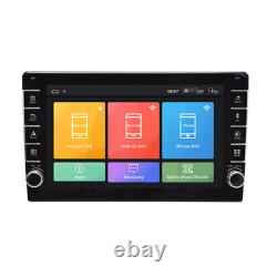 2 Din 8inch Android 8.1 Car Quad-core Stereo Radio With Button Knob GPS Wifi BT