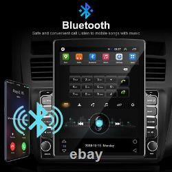 2 Din 9.7 inch Android 9.1 Car Stereo Radio Vertical GPS BT WIFI FM MP5 Player