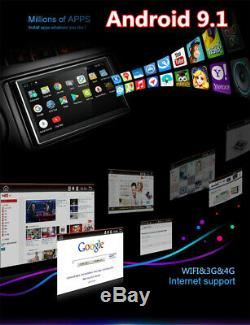 2 Din 9 Android 9.1 1080P RAM 2GB ROM 32GB Car Stereo Radio GPS Wifi 3G 4G DAB