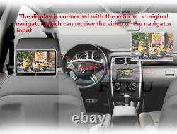 2pc 10.6 Dual 4code Android 6.0 Car Headrest Monitor Video IPS Touch Screen