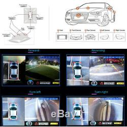 3D 360° Surround View System Around Parking Car Security DVR Recording System