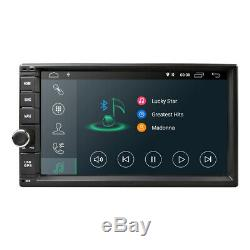 7 Android 8.1 Double DIN Car Stereo GPS Radio TPMS DAB+ DVR WiFi 4G DTV-IN OBD2