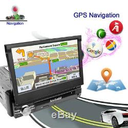 7'' Car Android GPS Player 16G Flash Music Navigation Map Data Video Mirror Link