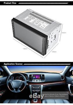 7 Touch Screen 2 Din WiFi GPS Navigation Bluetooth Android 6.0 Car MP5 Player