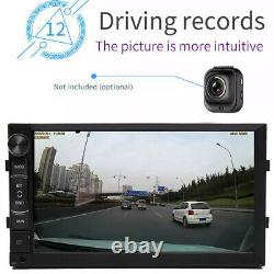 7 inch Double Din Android 8.1 Car Stereo Sat Nav GPS WIFI Player FM Radio 16GB