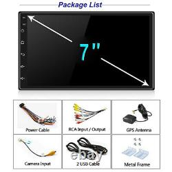 7in 1DIN Android 9.1 Quad-Core Car Stereo Radio MP5 Player Sat Nav GPS BT WIFI