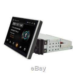 9 1Din Adjustable Touch Screen Bluetooth Car Stereo Radio MP5 Player GPS Navs