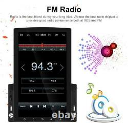 9.7in 2DIN Android 10.0 Car Radio Stereo MP5 Player GPS Sat Nav BT Wifi FM +Cam