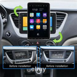 9in 1Din Android 10.1 Quad-Core Car Stereo Radio Sat Nav GPS Bluetooth FM WIFI