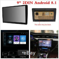 9inch Double 2-Din Android 8.1 Car MP5 Player Touch Screen Stereo Radio GPS WIFI