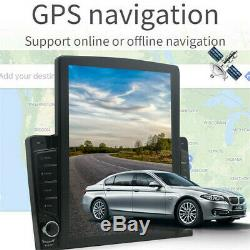 Android8.1 1Din 10.1In BT Car Stereo Radio Sat Nav GPS WIFI Audio USB MP5 Player