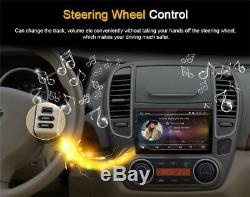 Android 6.0 HD Touch Screen 2 Din 1+16G Car Stereo Radio GPS WiFi 4G Mirror Link