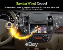 Android 7.1 2-Din 10.1 Touch Screen Quad-Core Car Stereo Radio GPS Wifi 3G/4G