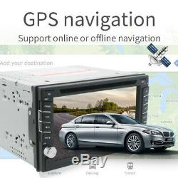Android 9.0 2DIN 6.2 Car DVD Player GPS Navigation BT Stereo Radio Mirror Link