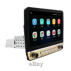 Android 9.1 10.1in Single 1DIN Car Radio Stereo Bluetooth FM MP5 Player GPS Navi