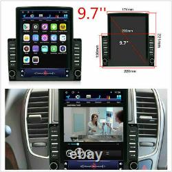 Android 9.1 2 Din 9.7In Car Stereo Radio Sat Nav GPS WIFI MP5 Player 2GB+32GB