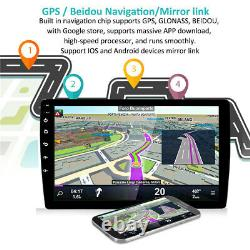 BT Car In-Dash 10.1 2Din Android 9.1 GPS Navs Head Unit Stereo Radio MP5 Player