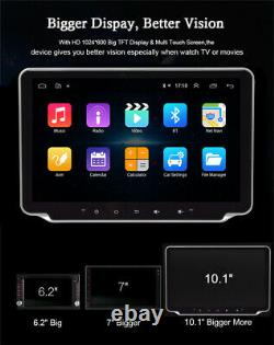 Bluetooth Car Radio Stereo 10.1in Single DIN MP5 Player Touch Screen GPS WiFi FM