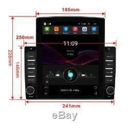 Bluetooth Car Stereo Radio Player 10.1In 1DIN Android 8.1 4-core GPS Navigation