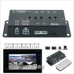 Car 360° Full Parking View Split Image Screen Front/Rear/Right/Left +4 HD Camera