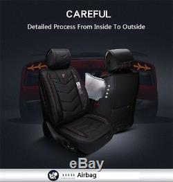 Car Seat Covers Cars 6D PU Leather Seat Cushion For Auto Accessories Car-Styling