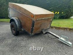 Classic Camping Car Trailer. Ford, Austin, Morris, VW, Rover, Vauxhall
