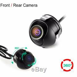 DC12V 360° Surround Panoramic View Car 4-Way HD Rearview Camera System PAL/NTSC
