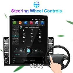 Double 2Din 9.7'' Android 9.1 Quad-core Car GPS FM Stereo Radio WIFI MP5 Player