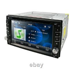 Double 2 DIN Head Unit Car Stereo CD DVD Player Touch Screen Mirror Link-GPS NAV