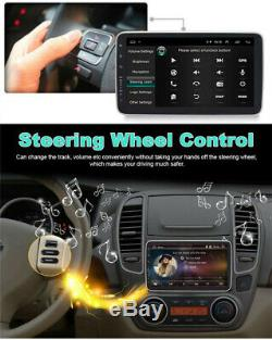 Double DIN Android 8.1 10.1'' Car Stereo Radio MP5 Player GPS Wifi 3G 4G BT DAB