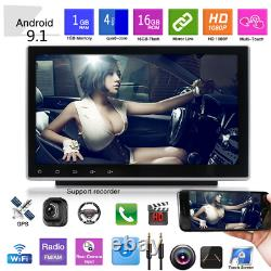 Double Din 10.1in Android9.1 Car Radio Stereo GPS Navi MP5 Player Bluetooth WIFI