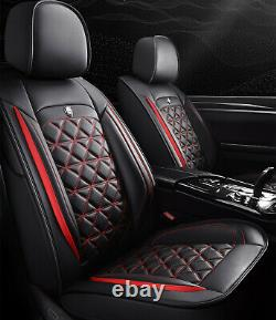 Full Surround Seats Covers Deluxe Edition PU Leather Car Seat Cushion WithHeadrest