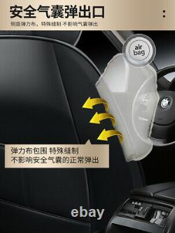 Full Surrounded Front Rear Car Seat Cover Protector Fit For Interior Accessories