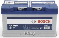 Genuine Bosch Car Battery 0092S40100 S4010 Type 110 80Ah 740CCA Top Quality New