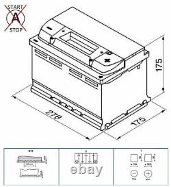 Genuine Bosch Car Battery 0092S50070 S5007 Type 100 74Ah 750CCA Top Quality New