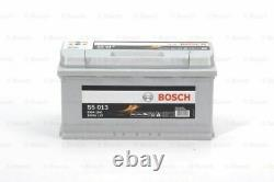 Genuine Bosch Car Battery 0092S50130 S5013 Type 019 100Ah 830CCA Top Quality New