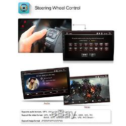 HD 10.1 Double DIN Android 6.0 Car Head unit Stereo GPS 4G Wifi DVD Mirror Link